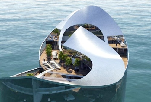 Floating Hotels Designed in Preparation for Qatar's World Cup