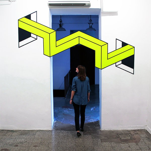 Aakash Nihalani is Back with More Playful Tape Illusions