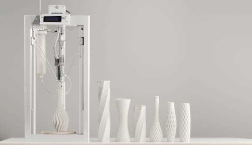 Affordable 3D Printer Effortlessly Crafts Beautiful Ceramics in Minimal Time