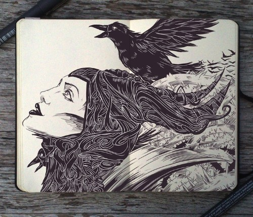 Incredible Moleskine Art Tells Magnificent Stories