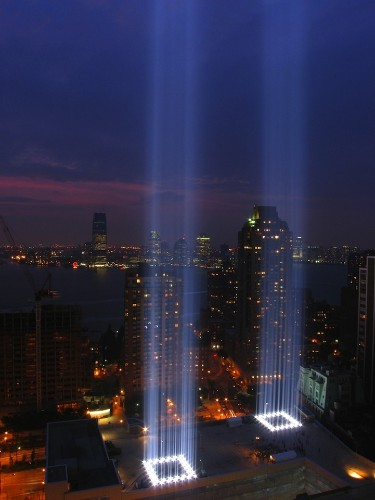 Stunning Photos of the Powerful Public Art Installation: Tribute in Light