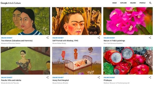 Explore the World's Largest Collection of Frida Kahlo Artifacts for Free