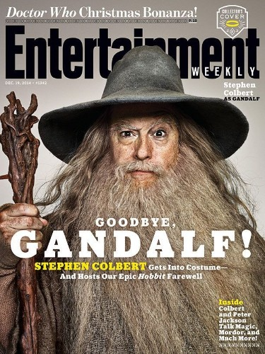 Stephen Colbert Dresses up as Lord of the Rings Characters for Incredible Photo Shoot