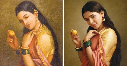 Photographer Recreates 19th Century Paintings With South Indian Actors