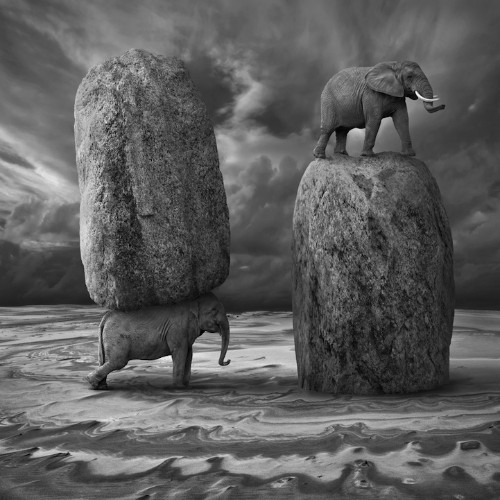 Mysteriously Playful Composite Images by Dariusz Klimczak