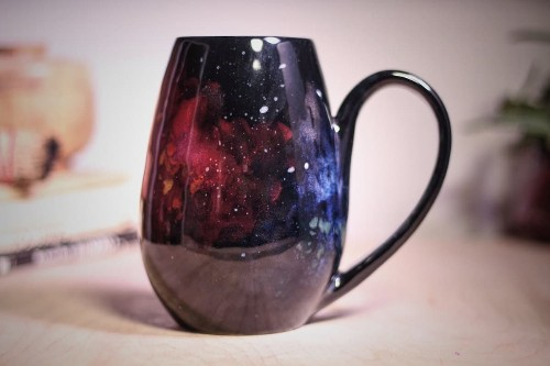 Brilliant Galaxy-Inspired Ceramics Are a Stellar Way to Drink from the Stars