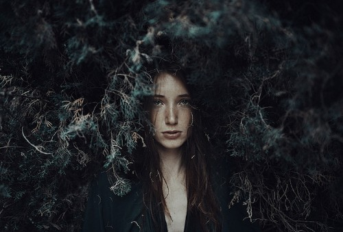 Alessio Albi's Stunningly Atmospheric Portraits Explore Light and Shadows