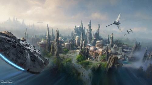 """Disney Announces Two Fully-Immersive """"Star Wars"""" Theme Parks to Be Built"""