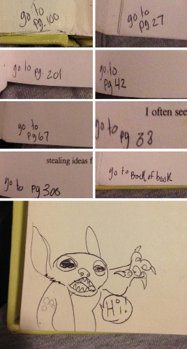 20+ Funny Textbook Doodles That Are So Clever, Teachers Won't Be Mad