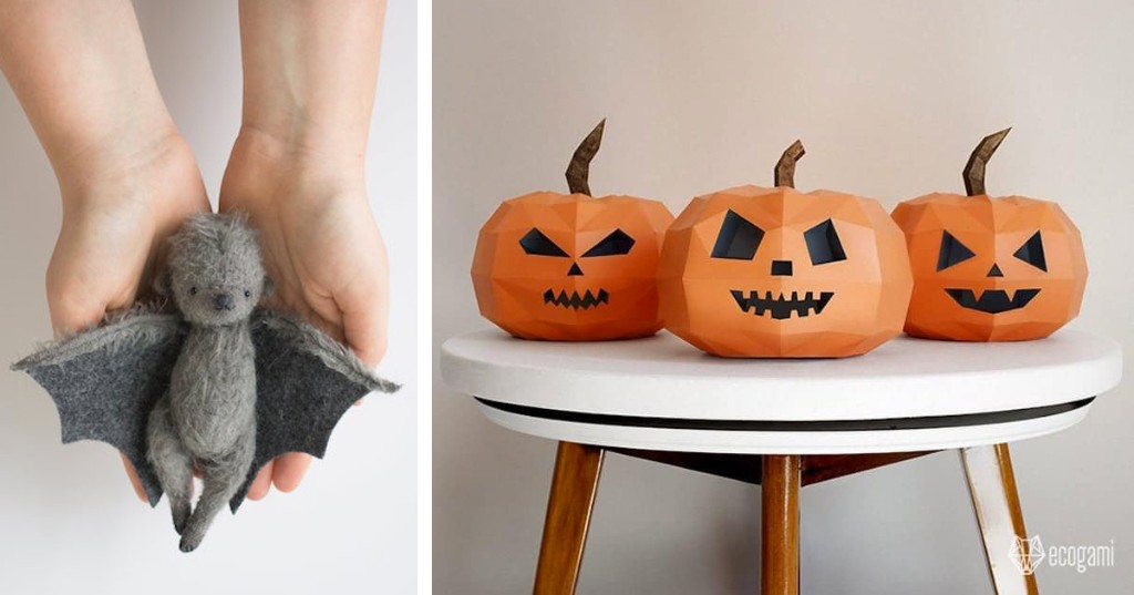 23 Frighteningly Fun DIY Kits and Crafts for Halloween
