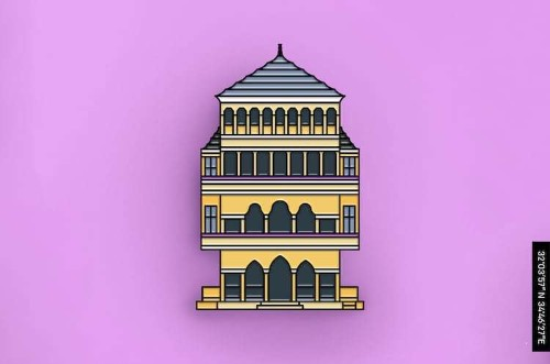 Sleek Architecture Enamel Pins Let You Wear the World's Most Famous Buildings