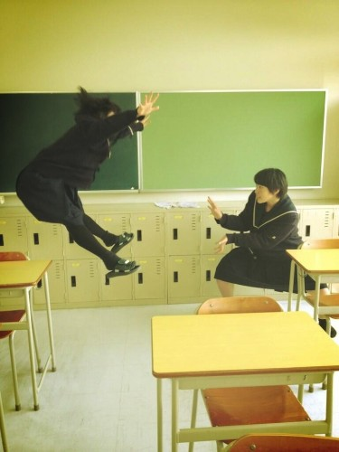 Japanese Schoolgirls Perform Superhuman Energy Attacks