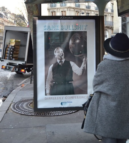 Brandalism: Street Artists' 600 Ad Takeovers in Paris Protest the COP21 Climate Conference