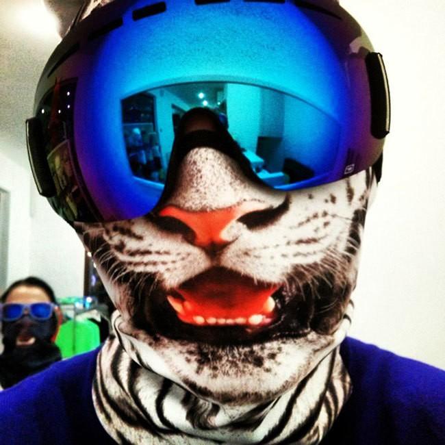 Playful Winter Ski Masks Delightfully Transform Wearer into an Animal