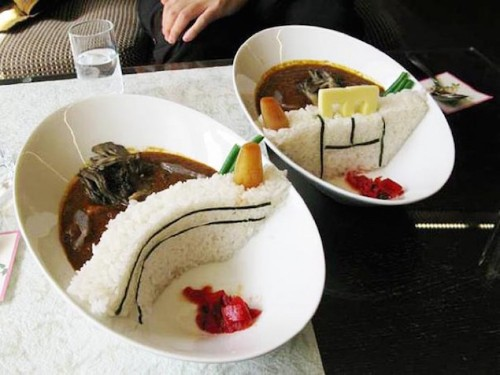 Creative Dam Curry is a Popular Dish Near Famous Dams in Japan