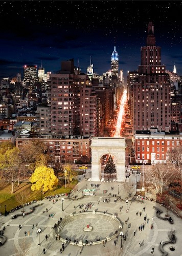 Spectacular Day and Night Composite Shots of Major Cities