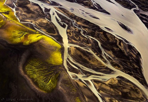 Beautifully Abstract Landscapes of Iceland from Above