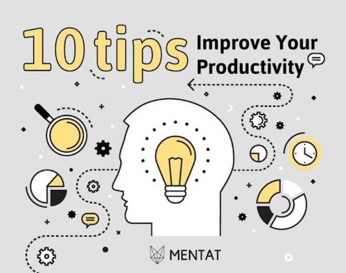 Helpful Infographic Offers 10 Useful Tips to Boost Your Daily Productivity