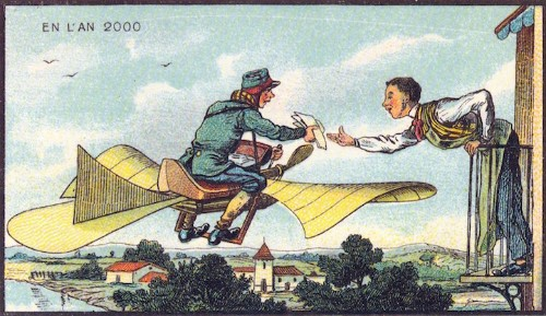 19th Century Postcards Predicted the World in the Year 2000