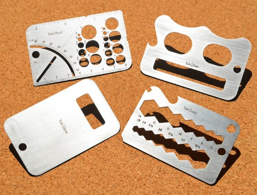 Credit Card-Sized Tools Perfect for the Handyman's Wallet