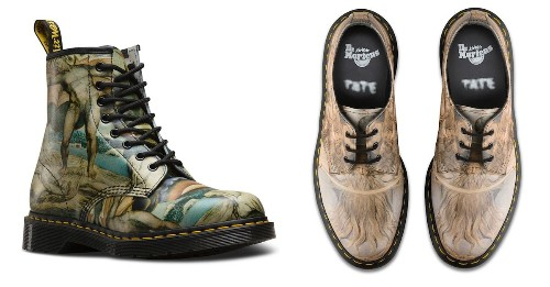 Limited Edition Doc Martens Pay Homage to Great British Painters