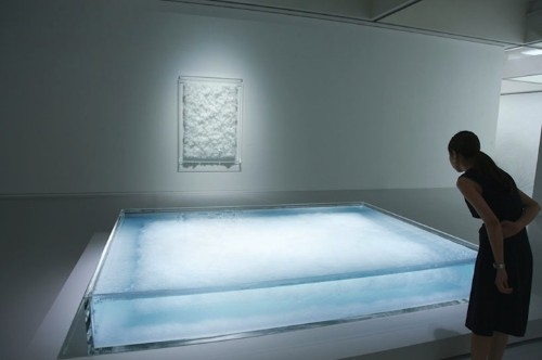 """Crystal """"Paintings"""" Made from Swan Lake Music Vibrations"""