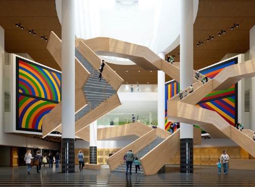 April Fool's!: San Francisco Museum's New Mind-Bending Staircase