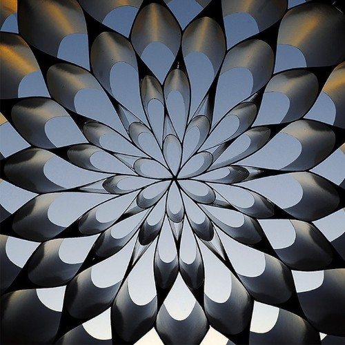 Mesmerizing Paper Dome Turns the Sky into a Kaleidoscope