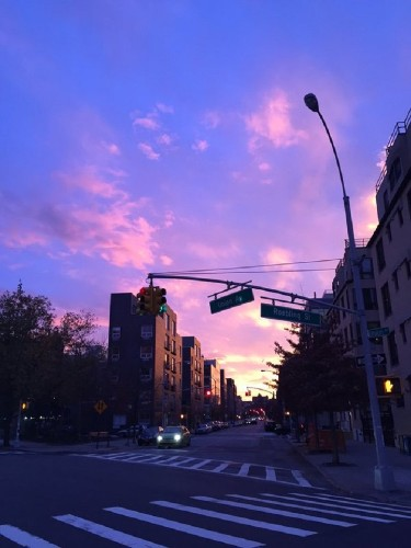 New Yorkers Capture Magnificent Sunset From All Across the City