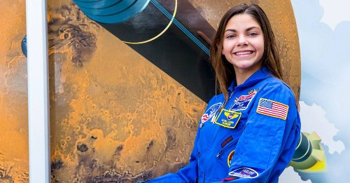 NASA Is Training This 17-Year-Old Girl to Become One of the First Humans on Mars