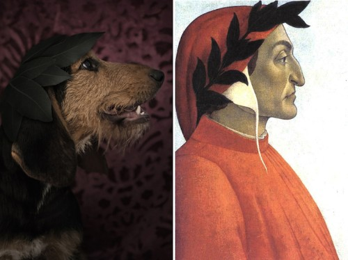 "Adorable Shelter Dogs Resemble Famous Authors in ""Poetic Dogs"" Series"