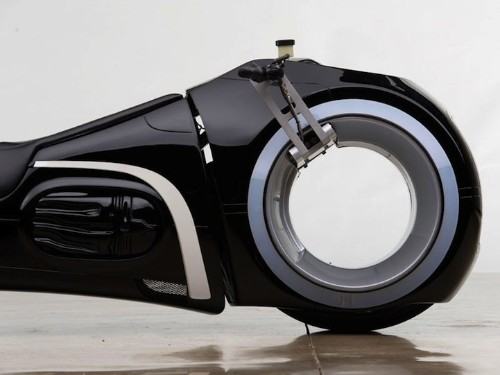 Futuristic Motorcycle Inspired by Tron Up For Sale