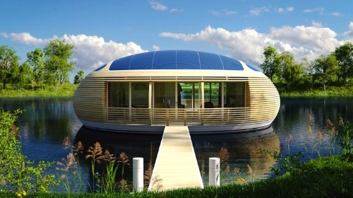 Smartly Engineered WaterNest 100 Lets Residents Live as One With Nature