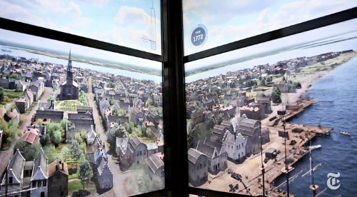 Watch the Transformation of NYC's Skyline Unfold in an Elevator to the Top of the World Trade Center
