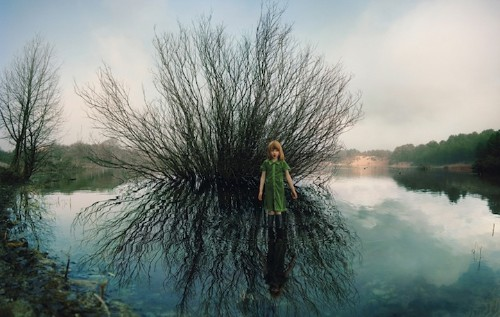 Dark Fairytale Photos of Women Stranded in Nature