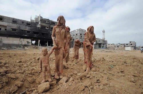 Clay Sculptures in Gaza Depict the Suffering and Displacement of War