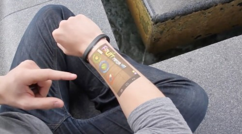 Cicret Bracelet Turns Your Arm into a Touchscreen Device