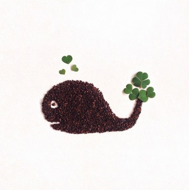 Artist Forms Clever Illustrations Out of Ground Coffee