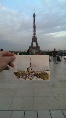 Artist Sketches Candid Scenes While Traveling Around the World