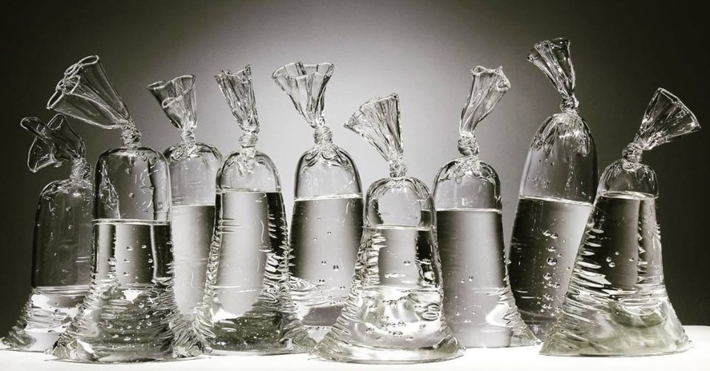 These Plastic Water Bags Are Actually Expertly Crafted Glass Sculptures