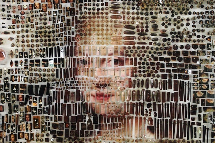 Portraits Emerge from an Incredible Collage of Objects