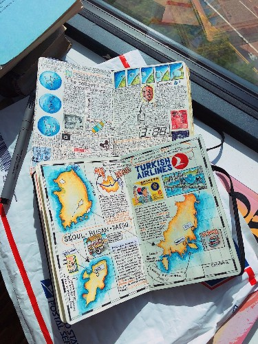 Interview: How an Avid Traveler Chronicles His Adventures Through Illustrated Journals