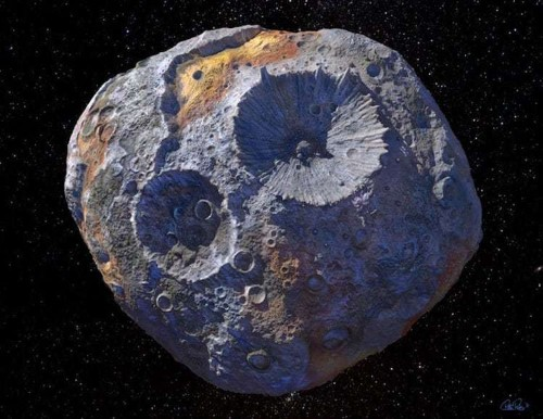 NASA to Visit a Gold & Precious Metal Asteroid Worth $700 Quintillion