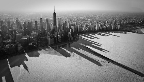 Pic of the Day: Chicago's Frozen Shadows
