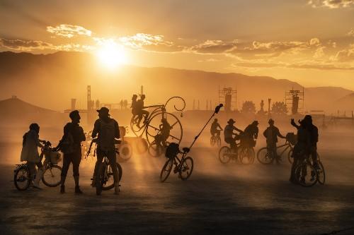 Photographer Travels the World Documenting Burning Man Festivals