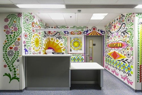 London Children's Hospital Transformed by Fun Artwork