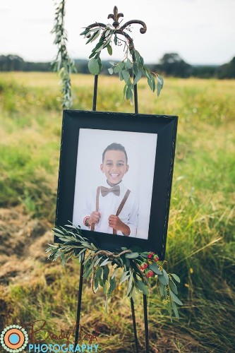 Bittersweet Wedding Photo Pays Tribute to 8-Year-Old Son Who Lost Battle with Leukemia