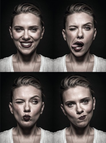 Playful Celebrity Portraits Show Off the Goofy Sides of A-List Stars