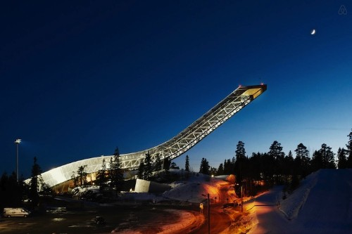 Amazing Penthouse Located at the Top of a Historic Ski Jump in Norway