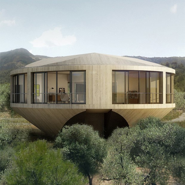 Round House Design Offers a Unique Architectural Experience
